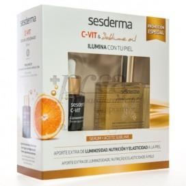 SESDERMA C VIT SERUM + ACEITE SUBLIME PROMO