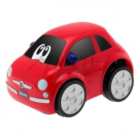 CHICCO TURBO TOUCH FIAT 500 ROJO 2A+