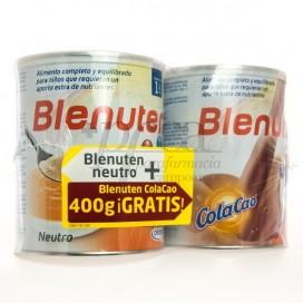 BLENUTEN NEUTRO 400G + COLACAO 400G PROMO