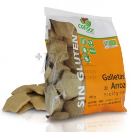 GALLETAS DE ARROZ 200 G SIN GLUTEN SORIA NATURAL R.40000
