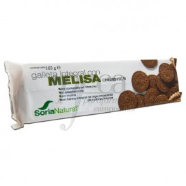 WHOLE GRAIN COOKIES WITH MELISSA 165 G SORIA NATURAL