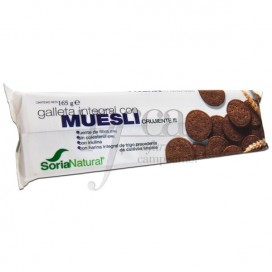 GALLETA INTEGRAL CON MUESLI 165G