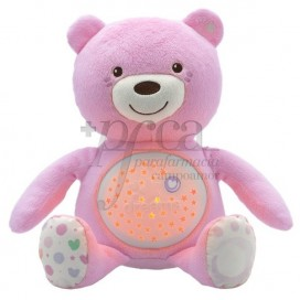CHICCO PROJECTOR BABY BEAR PINK 0M+