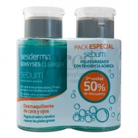 SESDERMA SENSYSES CLEANSER SEBUM 2 X 200ML PROMO