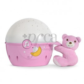 CHICCO PROYECTOR NEXT 2 STARS ROSA 0M+