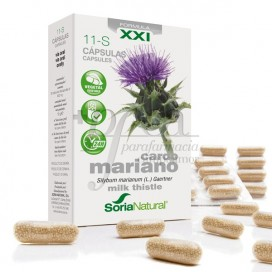 11-S CARDO MARIANO FORMULA XXI 30 CAPS SORIA NATURAL R.09061