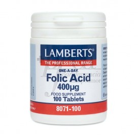 ACIDO FOLICO 400MCG 100 COMPS