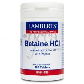 BETAINE HCI 180 TABLETTEN LAMBERTS