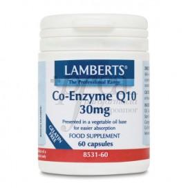 CO-ENZYME Q10 30MG 60 CAPSULES LAMBERTS