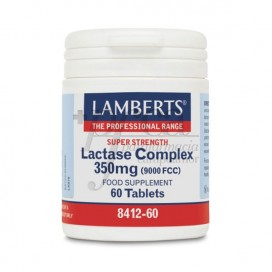 COMPLEJO DE LACTASA 350MG 60 COMPS