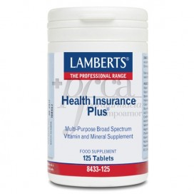 HEALTH INSURANCE PLUS 125 COMPRIMIDOS