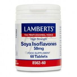 SOYA ISOFLAVONES 50MG 60 TABLETS LAMBERTS