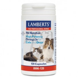 PET NUTRITION HIGH POTENCY CATS AND DOTS 120 CAPSULES LAMBERTS