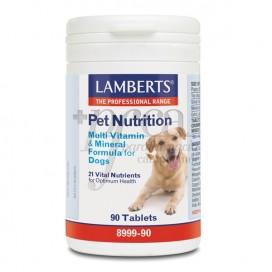 PET NUTRITION VITAMINAS Y MINERALES PARA PERROS 90 COMPS LAMBERTS