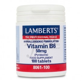 VITAMINA B6 50MG (PIRIDOXINA) 100 COMPS