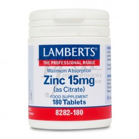 ZINC 15MG (COMO CITRATO) 180 COMPS