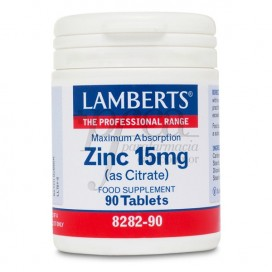 ZINC 15MG (COMO CITRATO) 90 COMPS