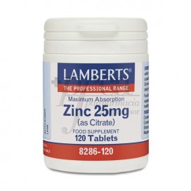 ZINC 25MG (COMO CITRATO) 120 COMPS