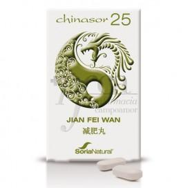 CHINASOR 25 30 COMPS JIAN FEI WAN