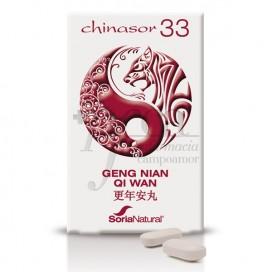 CHINASOR 33 GENG NIAN QI WAN 30 COMPRIMIDOS SORIA NATURAL