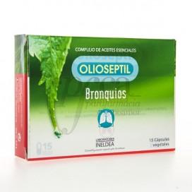 INELDEA OLIOSEPTIL BRONQUIOS 15 CAPS