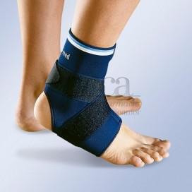 NEOPRENE CROSSOVER ELASTIC ANKLE SUPPORT 4401 SIZE 1 22-24 CM