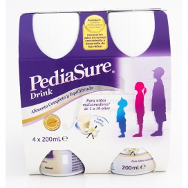 PEDIASURE DRINK PACK 4X200ML VAINILLA