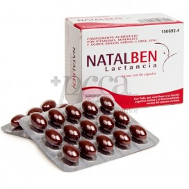 NATALBEN BREASTFEEDING 60 CAPSULES