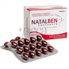 NATALBEN LACTAÇÃO 60 CÁPSULAS
