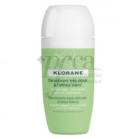 KLORANE DESODORANTE A LA ALTEA BLANCA ROLL-ON 40 ML