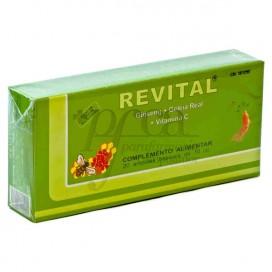 REVITAL GINSENG GELEE ROYAL VIT C 20 TRINKAMPULLEN