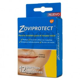 ZOVIPROTECT 12 PARCHES INVISIBLES