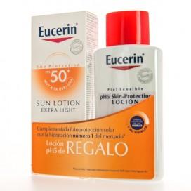 EUCERIN LOCION SOLAR LIGERA SPF50 + REGALO PROMO
