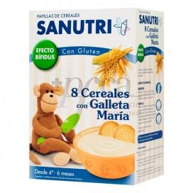 SANUTRI 8 CEREAL GALLETA MARIA BIFID 600