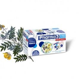 PHARMA3 DIET Y DETOX 1.5 G 25 FILTROS