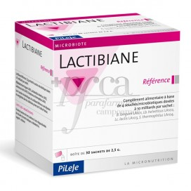 LACTIBIANE REFERENCE PILEJE 2.5 G 30 SAQUETAS