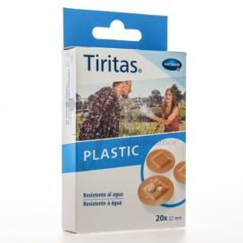 TIRITAS PLASTIC ROUND PLASTERS 22M 20 UNITS HARTMANN