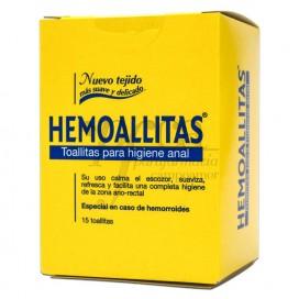 HEMOALLITAS HIGIENE ANAL 15 TOALLITAS