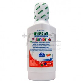 GUM JUNIOR 7-12 JAHRE MUNDWASSER ORANGE 300 ML