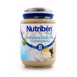 NUTRIBEN VERDURAS SELECTAS Y LENGUADO  250 G