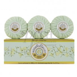 ROGER & GALLET PERFUMED SOAP THE VERT 3X100 G
