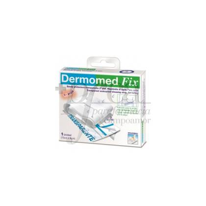DERMOMED FIX TRANSPARENTE 75X8CM 1U
