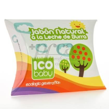 ICO BABY JABON NATURAL DE LECHE DE BURRA 100 G