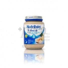 NUTRIBEN CREAMED VEGETABLES AND HAKE PORRIDGE 20