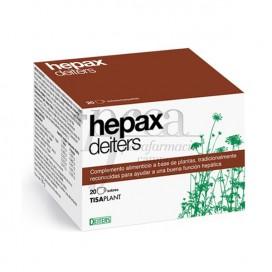 HEPAX DEITERS 20 ENVELOPES/FILTRO