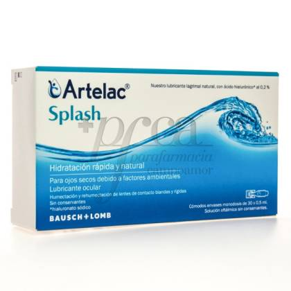 ARTELAC SPLASH 30X 0.5 MONODOSES