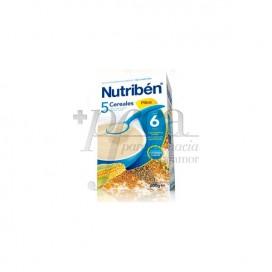 NUTRIBEN 5 CEREAIS FIBRA 600G