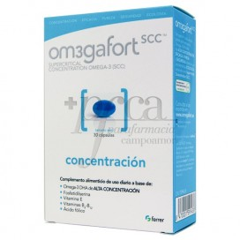 OM3GAFORT CONCENTRATION 730MG 30 CAPSULES