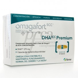 OMEGAFORT OMEGA DHA PREMIUM 60 CAPS