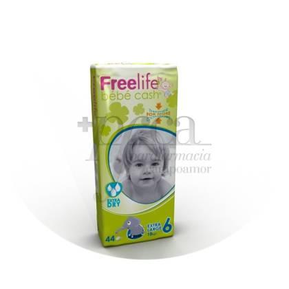 FREELIFE BEBECASH PAÑAL INFANTIL T- 6  44 U